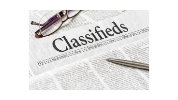 Classified listing - up to 150 words